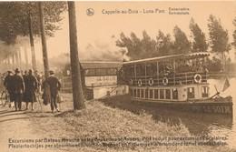 CPA - Belgique - Kapelle-op-den-Bos - Cappelle-au-bois - Luna Parc - Embarcadère - Kapelle-op-den-Bos