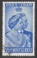 Montserrat. 1946 KGVI Royal Silver Wedding. 2½d Used. SG 115 - Montserrat