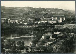 °°° Cartolina N. 1 Acqui Terme Piscine Viaggiata °°° - Alessandria