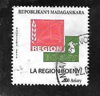 TIMBRE OBLITERE DE MADAGASCAR DE 2017 - Madagascar (1960-...)