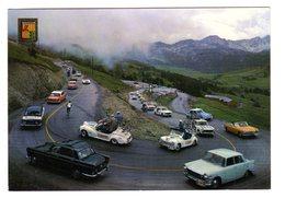 CPSM Tour De France 1964 En Andorre Passage Caravane à Envalira Encam Valls D'Andorra Vieux Véhicules Renault Peugeot - Cyclisme