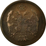 Monnaie, Serbie, Peter I, 2 Pare, 1904, TTB+, Bronze, KM:23 - Serbia