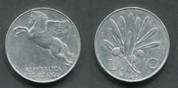 10 LIRE 1950 R - 1946-… : République