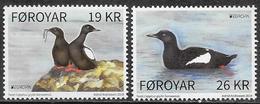 Faroer/Faroe/Féroé: Cepphus Grylle Faeroeensis, Europa CEPT 2019 - Albatros