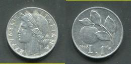 1 LIRA 1948 R - 1946-… : République