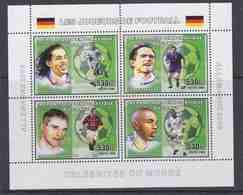 Congo 2006 Football M/s PERFORATED  ** Mnh (42503) - Democratische Republiek Congo (1997 - ...)