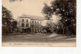 Dunkerque Le Jardin De La Ville Et Le Musée - Dunkerque