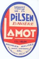 Etiket Etiquette - Bier Bière - Pilsen Bavière - Lamot - Mechelen Malines - Cerveza