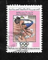 TIMBRE OBLITERE DE MAURITANIE DE 1996 N° MICHEL 1041 - Mauritanie (1960-...)