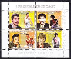 Congo 2006 Rock Stars M/s PERFORATED  ** Mnh (42503D) - Ongebruikt