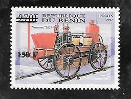 TIMBRE SURCHARGE NEUF DU BENIN DE 2000 N° MICHEL 1299  COTE 100 € - Bénin – Dahomey (1960-...)