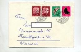 Lettre Cachet Arosa Sur Juventute 1953 - Marcophilie