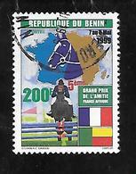TIMBRE OBLITERE DU BENIN DE 1999 N° MICHEL 1225 - Bénin – Dahomey (1960-...)