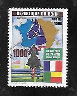TIMBRE OBLITERE DU BENIN DE 1999 N° MICHEL 1228 - Bénin – Dahomey (1960-...)