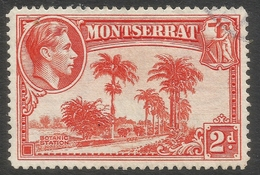 Montserrat. 1938-48 KGVI. 2d Used. P14 SG 104a - Montserrat
