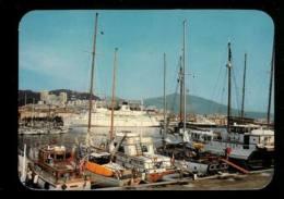 AJACCIO  Le Port En 1984 Edition Du Mouflon Carte Rare - Ajaccio