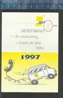 ZAKKALENDER CALENDRIER 1997 BELBUS DE LIJN LIMBURG - Petit Format : 1991-00