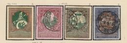 Yvert 93 / 96 + 97 / 100 Neuf Charnière Et Oblitéré - 1857-1916 Imperium