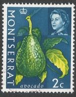 Montserrat. 1965 Vegetables. 2c Used. SG 161 - Montserrat