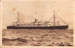 "M08027 ""VIRGILIO-PIROSCAFO 12.000 TON."" CARTOLINA POSTALE ORIGINALE SPEDITA 1933 - Piroscafi"