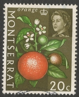 Montserrat. 1965 Vegetables. 20c Used. SG 169 - Montserrat