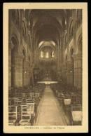 CHAROLLES  Intérieur De L'église édition Bourgeois Carte Rare - Charolles