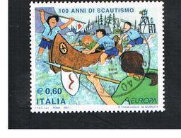 ITALIA REPUBBLICA  -   2007  SCOUT   -   USATO  ° - 2001-10: Usati