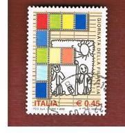 ITALIA REPUBBLICA  -   2005  GIORNATA DELLA FILATELIA                 -   USATO  ° - 6. 1946-.. Repubblica