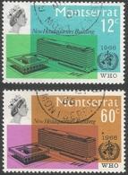 Montserrat. 1966 Inauguration Of WHO Headquarters. Used Complete Set. SG 185-186 - Montserrat