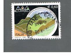 ITALIA REPUBBLICA  -   2006    GIORNATA DELLA MONTAGNA         -   USATO  ° - 2001-10: Usati