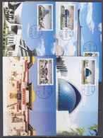 China 2002 Museum 5v 5 Maxicards (42507) - Maximumkaarten