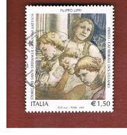 ITALIA REPUBBLICA  -   2005   F. LIPPI      -   USATO  ° - 2001-10: Usati