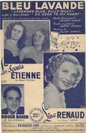 Bleu Lavande - Line Renaud (p;Jacques Plante ; M: Eliot Daniel), 1949 - Non Classés