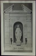 AVE MARIA Parrocchia Di S.Pietro Quinto Al Mare - Viaggiata Formato Piccolo - Genova