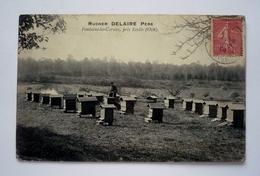 60 - RUCHER DELAIRE Père à FONTAINE - LES - CORNUS Près SENLIS - Apiculture - Miel - Abeilles - France