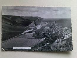 1963 Black And White  Postcard -  Valley Of Rocks, Lynton - Lynmouth & Lynton
