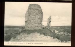 LES ANDELYS  Les Ruines De Chateau Gaillard édition Bergerin Carte Rare - Les Andelys