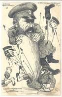 ORENS - Le Burin Satirique N° 16 (250 Ex.) La Guerr Russo-Japonaise - L' Arrivée Du Généralissime Kouropatkine (203 ASO) - Orens