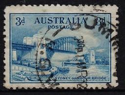 Australia 1932 Sydney Harbour Bridge 3d Postally Used - 1913-36 George V : Other Issues