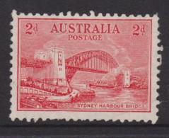 Australia 1932 Sydney Harbour Bridge 2d Litho. Mint No Gum - See Notes - 1913-36 George V : Other Issues
