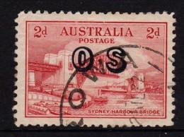Australia 1932 Sydney Harbour Bridge 2d Overprinted OS Used - 1913-36 George V : Other Issues