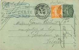 65* MAUBOURGET  Correspondance Commerciale         MA88,0298 - Maubourguet