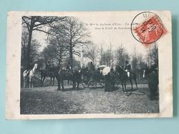 Equipage De Mme La Duchesse D' Uzès ( Forêt De Sonchamps ) - Frankrijk