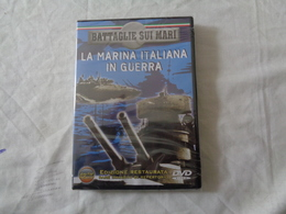 DVD VIDEO: LA MARINA ITALIANA IN GUERRA (BATTAGLIE SUI MARI) DOCUMENTARIO - SIGILLATO - LEGGI - DVD Musicali