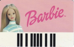 TARJETA DE LA MUÑECA BARBIE - Unclassified