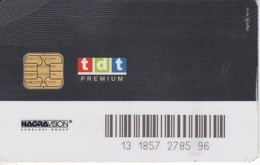 TARJETA CON CHIP DE GOL TELEVISION DE LA TDT PREMIUM (PUCE) - Tarjetas Telefónicas