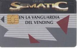 TARJETA CON CHIP DE SEMANTIC PARA MAQUINAS DE VENTA DIRECTA (PUCE) - Tarjetas Telefónicas