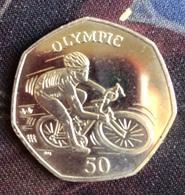 Isle Of Man 2012 50p Coin - Monnaies Régionales
