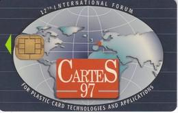 TARJETA CON CHIP DE CARTES 97  (PUCE) DEMO CARD - Tarjetas Telefónicas