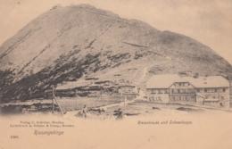 AK -Tschechien -  RIESENGEBIRGE - Riesenbaude Und Schneekoppe 1900 - Tschechische Republik